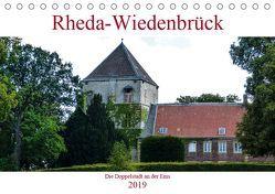 Rheda-Wiedenbrück – Die Doppelstadt an der Ems (Tischkalender 2019 DIN A5 quer)