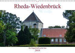 Rheda-Wiedenbrück – Die Doppelstadt an der Ems (Wandkalender 2019 DIN A3 quer) von Robert,  Boris