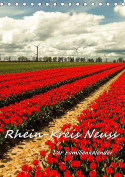Rhein-Kreis Neuss – Der Familienkalender (Tischkalender 2019 DIN A5 hoch) von Hackstein,  Bettina