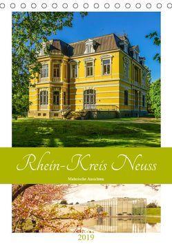 Rhein-Kreis Neuss – Malerische Ansichten (Tischkalender 2019 DIN A5 hoch) von Hackstein,  Bettina
