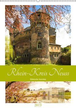 Rhein-Kreis Neuss – Malerische Ansichten (Wandkalender 2019 DIN A2 hoch) von Hackstein,  Bettina