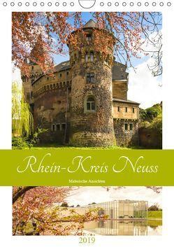 Rhein-Kreis Neuss – Malerische Ansichten (Wandkalender 2019 DIN A4 hoch) von Hackstein,  Bettina