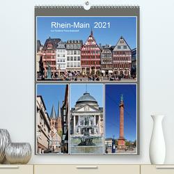 Rhein-Main 2021 vom Taxifahrer Petrus Bodenstaff (Premium, hochwertiger DIN A2 Wandkalender 2021, Kunstdruck in Hochglanz) von Bodenstaff,  Petrus