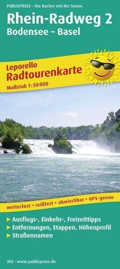 Rhein-Radweg 2, Bodensee-Basel