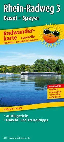 Rhein-Radweg 3, Basel – Speyer