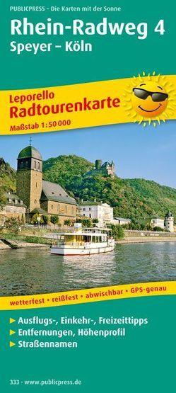 Rhein-Radweg 4, Speyer – Köln