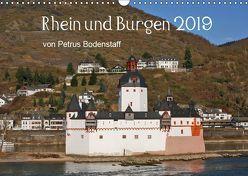 Rhein und Burgen (Wandkalender 2019 DIN A3 quer) von Bodenstaff,  Petrus