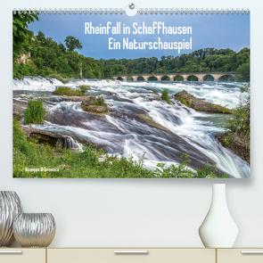 Rheinfall in Schaffhausen – Ein Naturschauspiel (Premium, hochwertiger DIN A2 Wandkalender 2020, Kunstdruck in Hochglanz) von Di Domenico,  Giuseppe