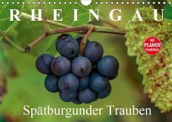 Rheingau – Spätburgunder Trauben (Wandkalender 2019 DIN A4 quer)