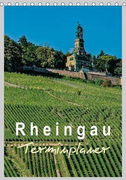 Rheingau Terminplaner (Tischkalender 2019 DIN A5 hoch) von Meyer,  Dieter