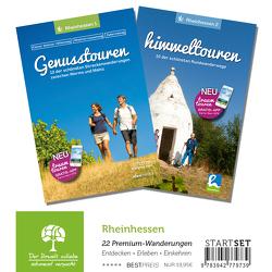 Rheinhessen-StartSet mit 2 Bänden – Premium-Wandern von Poller,  Ulrike, Schoellkopf,  Uwe, Todt,  Wolfgang