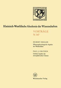 Rheinisch-Westfälische Akademie der Wissenschaften von Ziegler,  Hubert