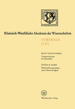 Rheinisch-Westfälische Akademie der Wissenschaften von Staufenbiel,  Rolf