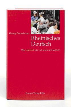 Rheinisches Deutsch von Cornelissen,  Georg