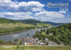 Rheinland 2020 Wandkalender A4 quer Spiralbindung 28 Blatt mit 56 Seiten von klaes-regio Fotoverlag, Rheinischer Verein für Denkmalpflege und Landschaftsschutz e.V.