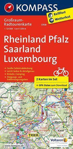 Rheinland-Pfalz – Saarland – Luxembourg von KOMPASS-Karten GmbH