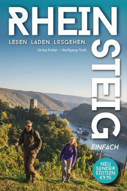 Rheinsteig einfach – Pocket-Wanderführer zum kleinen Preis von Poller,  Ulrike, Todt,  Wolfgang, Uwe,  Schöllkopf