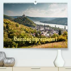 Rheinsteig Impressionen I (Premium, hochwertiger DIN A2 Wandkalender 2021, Kunstdruck in Hochglanz) von Hess,  Erhard