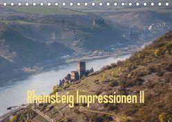 Rheinsteig Impressionen II (Tischkalender 2019 DIN A5 quer) von Hess,  Erhard