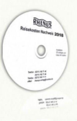 Rhenus Reisekosten CD 2018