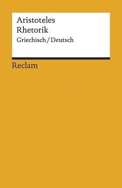 Rhetorik von Aristoteles, Krapinger,  Gernot