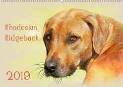 Rhodesian Ridgeback 2019 (Wandkalender 2019 DIN A2 quer) von Redecker,  Andrea