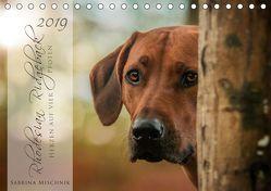 Rhodesian Ridgeback – Herzen auf vier Pfoten (Tischkalender 2019 DIN A5 quer) von Mischnik,  Sabrina