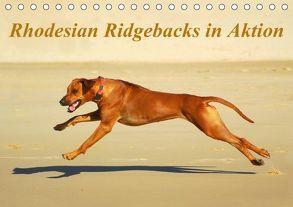 Rhodesian Ridgebacks in AktionAT-Version (Tischkalender 2018 DIN A5 quer) von van Wyk - www.germanpix.net,  Anke