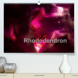 Rhododendron (Premium, hochwertiger DIN A2 Wandkalender 2021, Kunstdruck in Hochglanz) von Renken,  Erwin