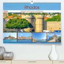 Rhodos – Altstadt mit Charme und Zauber (Premium, hochwertiger DIN A2 Wandkalender 2020, Kunstdruck in Hochglanz) von Schwarze,  Nina