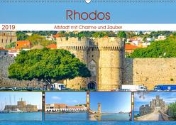 Rhodos – Altstadt mit Charme und Zauber (Wandkalender 2019 DIN A2 quer) von Schwarze,  Nina
