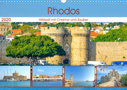 Rhodos – Altstadt mit Charme und Zauber (Wandkalender 2020 DIN A3 quer) von Schwarze,  Nina
