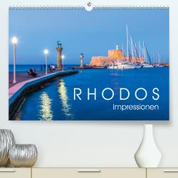 RHODOS Impressionen (Premium, hochwertiger DIN A2 Wandkalender 2020, Kunstdruck in Hochglanz) von Dieterich,  Werner