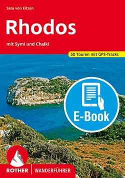 Rhodos mit Symi und Chalki (E-Book) von von Eitzen,  Sara
