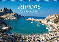 Rhodos – Traumhafter Süden (Wandkalender 2019 DIN A2 quer) von und Philipp Kellmann,  Stefanie