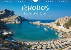 Rhodos – Traumhafter Süden (Wandkalender 2019 DIN A4 quer) von und Philipp Kellmann,  Stefanie