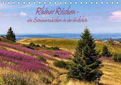 Rhöner Röschen – ein Sommermärchen in der Hochrhön (Tischkalender 2020 DIN A5 quer) von Pfleger,  Hans