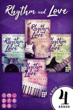 Rhythm and Love: Alle Bände der berührenden Rockstar-Romance in einer E-Box! von Fawn,  Sophie