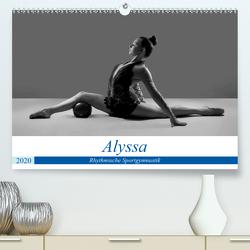 Rhythmisch Sportgymnastik – Alyssa (Premium, hochwertiger DIN A2 Wandkalender 2020, Kunstdruck in Hochglanz) von Bedaam,  Jürgen