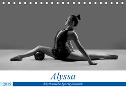 Rhythmisch Sportgymnastik – Alyssa (Tischkalender 2019 DIN A5 quer) von Bedaam,  Jürgen