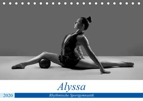 Rhythmisch Sportgymnastik – Alyssa (Tischkalender 2020 DIN A5 quer) von Bedaam,  Jürgen