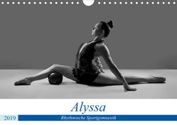 Rhythmisch Sportgymnastik – Alyssa (Wandkalender 2019 DIN A4 quer) von Bedaam,  Jürgen