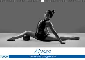 Rhythmisch Sportgymnastik – Alyssa (Wandkalender 2020 DIN A3 quer) von Bedaam,  Jürgen