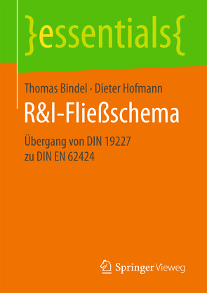R&I-Fließschema von Bindel,  Thomas, Hofmann,  Dieter