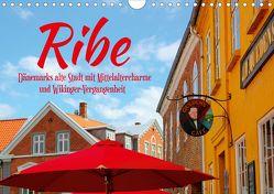 Ribe, Dänemarks alte Stadt mit Mittelaltercharme und Wikinger-Vergangenheit (Wandkalender 2020 DIN A4 quer) von Reichenauer,  Maria