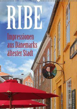 Ribe – Impressionen aus Dänemarks ältester Stadt (Wandkalender 2019 DIN A2 hoch) von Reichenauer,  Maria