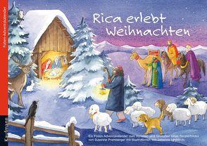 Rica erlebt Weihnachten. Ein Folienadventskalender zum Vorlesen und Gestalten eines Fensterbildes von Ignjatovic,  Johanna, Pramberger,  Susanne