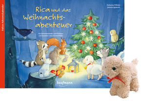 Rica und das Weihnachtsabenteuer mit Stoffschaf von Ignjatovic,  Johanna, Wilhelm,  Katharina