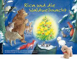Rica und die Waldweihnacht mit Stoffschaf von Ignjatovic,  Johanna, Schupp,  Renate