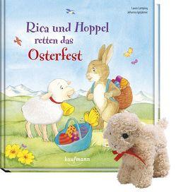 Rica und Hoppel retten das Osterfest mit Stoffschaf von Ignjatovic,  Johanna, Lamping,  Laura